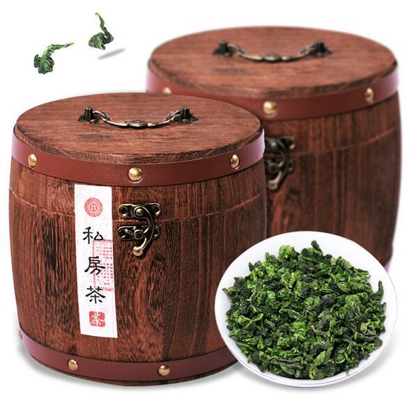 安溪铁观音茶叶,圆木桶铁观音茶叶礼盒装