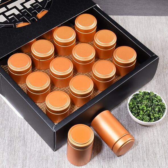 铁观音礼盒装 16罐浓香一级铁观音茶叶