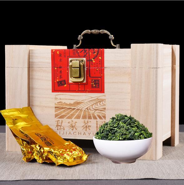 安溪铁观音礼盒装私家茶园木盒500g