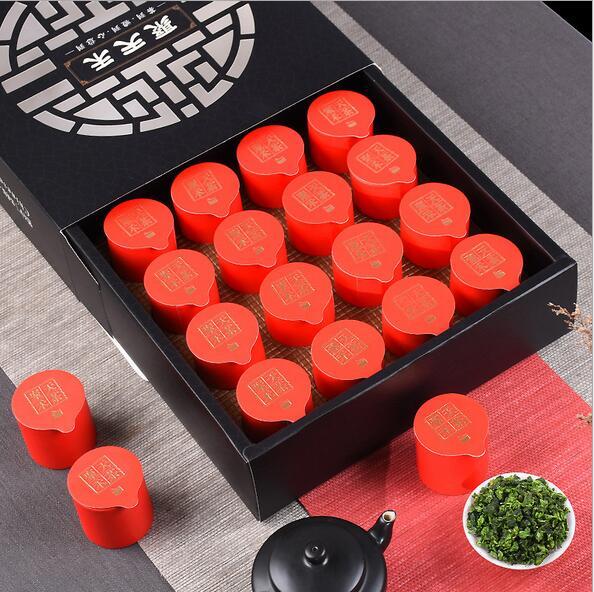 铁观音茶叶礼盒装16罐清香型安溪茶叶礼盒320克
